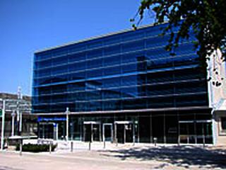 Tor 1 - Gebäude am Flughafen in Nürnberg