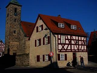 Fachwerkhaus in Rückersdorf