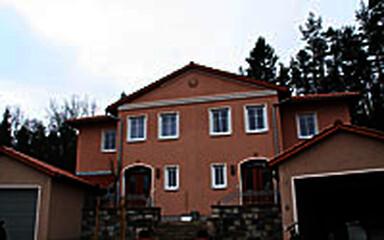 Doppelhaus im toskanischen Stil, Lauf